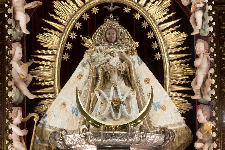 La Virgen de las Nieves de La Palma